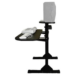 Sefour X15 Studio Pro Desk, Gloss Black - Side
