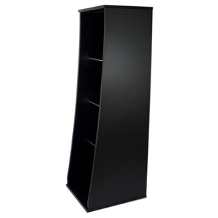 Sefour Vinyl Storage Unit for 500 Records, Black - Side