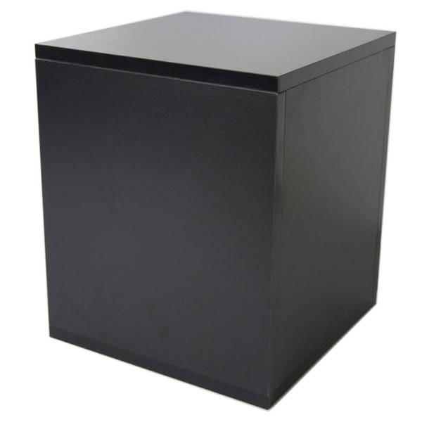 Sefour Carry Box for 115 Records, Black - Rear View