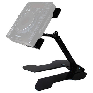 Sefour Universal Swivel Laptop - CDJ Stand (44cm Width), Black - Stand (CDJ Not Included)