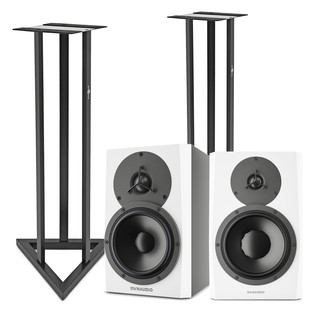 Dynaudio LYD-7 Near-Field Studio Monitor with Stands, Pair