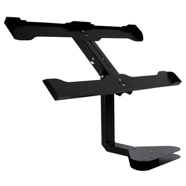 Sefour Double CDJ Stand for X25/X15/X10/X5 (65cm Width), Black - Stand