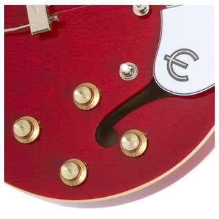 Epiphone Casino Archtop Electric Guitar, Cherry