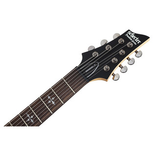 Schecter Demon-7 7 String Electric Guitar, Satin Black
