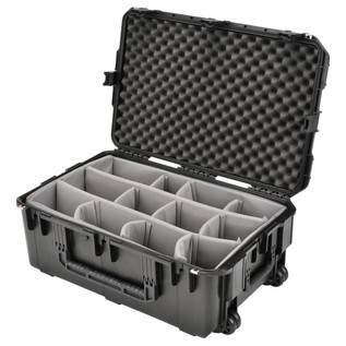 SKB iSeries 2918-10 Waterproof Case (With Dividers) - Angled Open 2