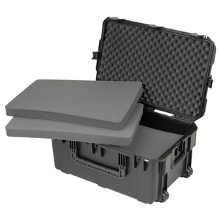 SKB iSeries 2918-14 Waterproof Case (With Cubed Foam) - Angled Open 2