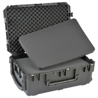 SKB iSeries 3019-12 Waterproof Case (With Cubed Foam) - Angled Open