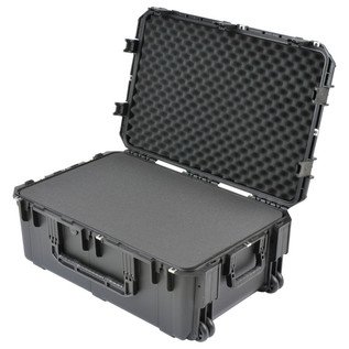 SKB iSeries 3019-12 Waterproof Case (With Cubed Foam) - Angled Open 2