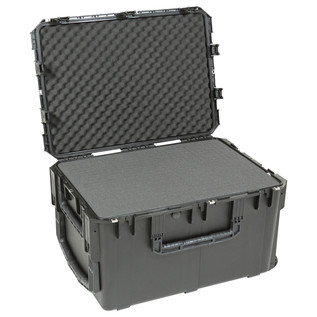 SKB iSeries 3I-3021 Waterproof Case (With Cubed Foam) - Angled Open