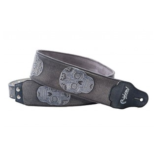 Right On Straps LEATHERCRAFT Sugar Guitar Strap, Black