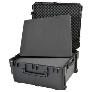 SKB iSeries 3026-15 Waterproof Case (With Cubed Foam) - Angled Open 2
