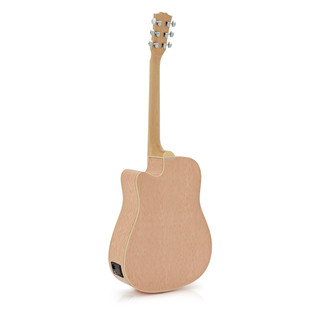 Deluxe Dreadnought Electro Acoustic Guitar, Birds Eye Maple Body