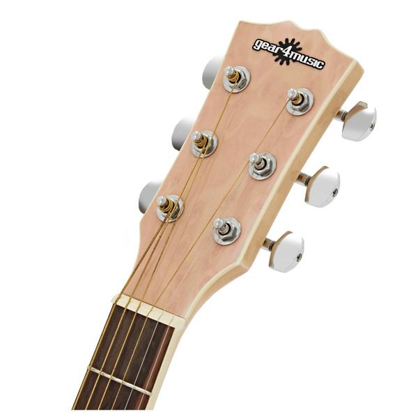 Deluxe Dreadnought Electro Acoustic Guitar, Birds Eye Maple Body
