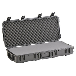 SKB iSeries 3614-6 Waterproof Case (With Layered Foam) - Angled Open