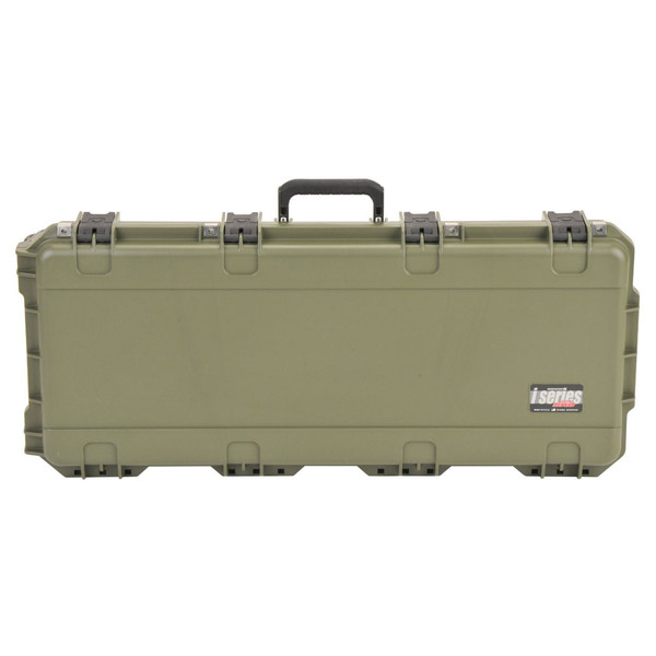 SKB iSeries 3614-6 Waterproof Case (With Layered Foam), Olive Drap - Front Closed