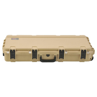 SKB iSeries 3614-6 Waterproof Case (With Layered Foam), Tan - Front Closed