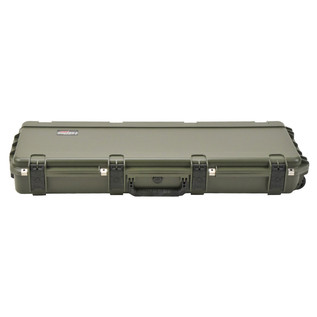 SKB iSeries 4214-5 Waterproof Case (Empty), Olive Drap - Front Flat