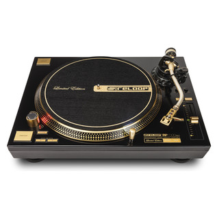 Reloop RP-7000GLD Direct Drive Turntable, Gold - Front