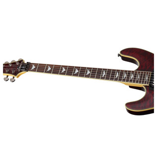 Schecter Omen Extreme-6 FR Left Handed Electric Guitar, Black Cherry