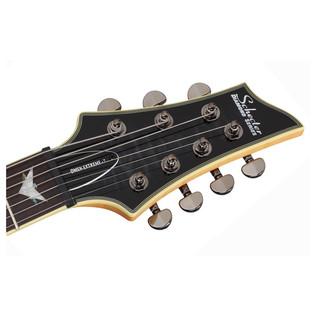 SchecterOmen Extreme-7 Electric Guitar, See-Thru Black