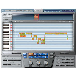 Waves Tune LT Pitch Correction Plugin - Screenshot