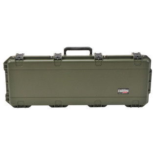 SKB iSeries 4214-5 Waterproof Case (With Layered Foam), Olive Drap - Front