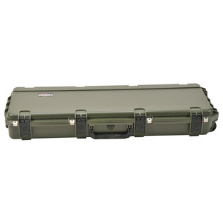 SKB iSeries 4214-5 Waterproof Case (With Layered Foam), Olive Drap - Front Flat