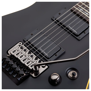 Schecter Demon-6 FR Electric Guitar, Satin Black
