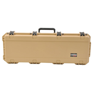 SKB iSeries 4214-5 Waterproof Case (With Layered Foam), Tan - Front