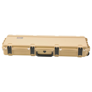 SKB iSeries 4214-5 Waterproof Case (With Layered Foam), Tan - Front Flat