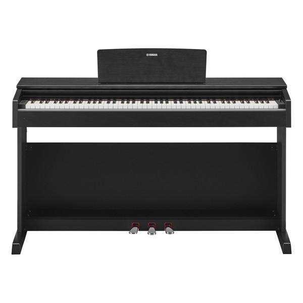 Yamaha Arius YDP143 Digital Piano Package, Black Walnut - Piano Front