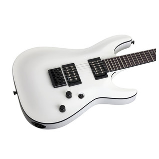 Schecter Stealth C-1 Electric Guitar, Satin White