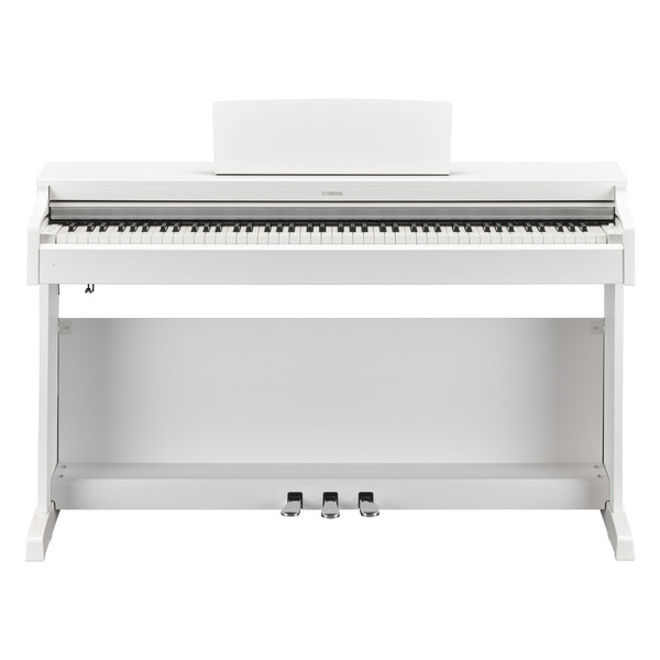 Yamaha Arius YDP163 Digital Piano Package, Satin White - Piano
