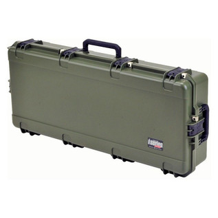 SKB iSeries 4217-7 Waterproof Case (Empty), Olive Drap - Angled