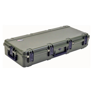 SKB iSeries 4217-7 Waterproof Case (Empty), Olive Drap - Angled Flat