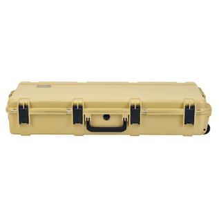 SKB iSeries 4217-7 Waterproof Case (Empty), Tan - Front Flat