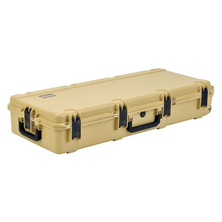 SKB iSeries 4217-7 Waterproof Case (Empty), Tan - Angled Flat 2