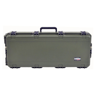 SKB iSeries 4217-7 Waterproof Case (With Layered Foam), Olive Drap - Front