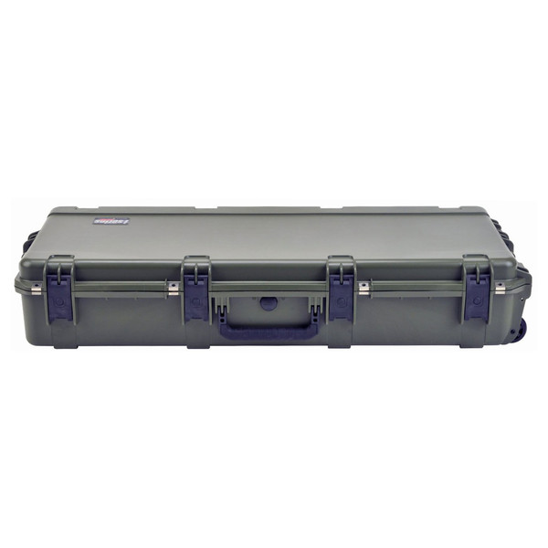 SKB iSeries 4217-7 Waterproof Case (With Layered Foam), Olive Drap - Front Flat