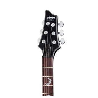 Schecter Damien Platinum-6 Electric Guitar, Satin Black