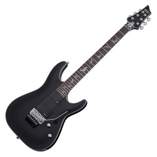 Schecter Damien Platinum-6 FR Electric Guitar, Satin Black