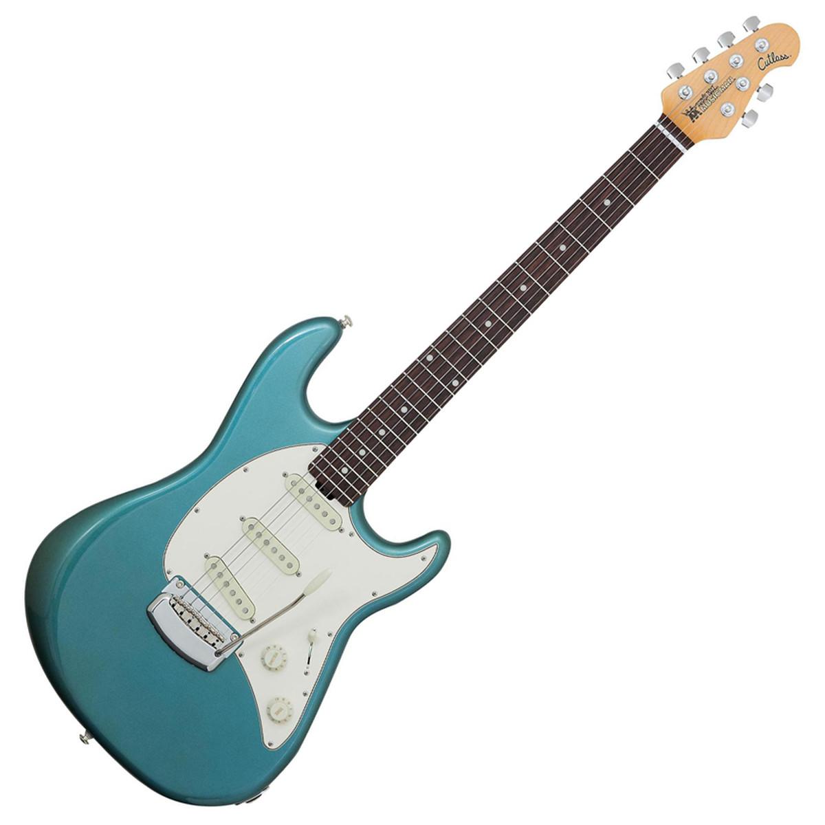 Electric Guitar Mp3 : music man cutlass electric guitar vintage turquoise at gear4music ~ Vivirlamusica.com Haus und Dekorationen