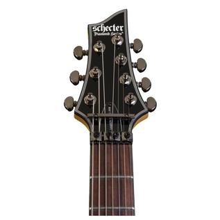 Schecter Damien Elite-7 FR Electric Guitar, Crimson Red Burst