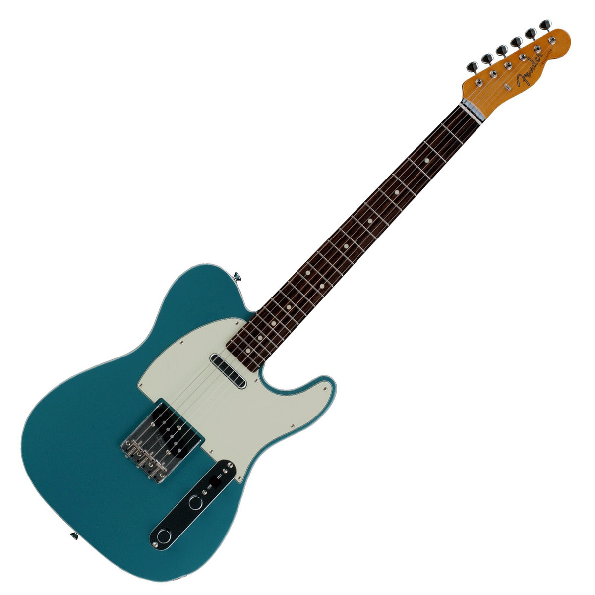 fender fsr 62 telecaster electric guitar ocean turquoise ex demo at gear4music. Black Bedroom Furniture Sets. Home Design Ideas