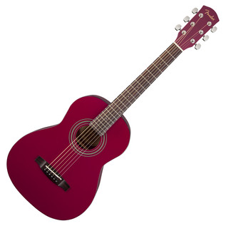 Fender FSR MA-1 3/4 Acoustic Guitar, Gloss Red