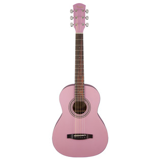Fender FSR MA-1 3/4 Acoustic Guitar, Gloss Pink