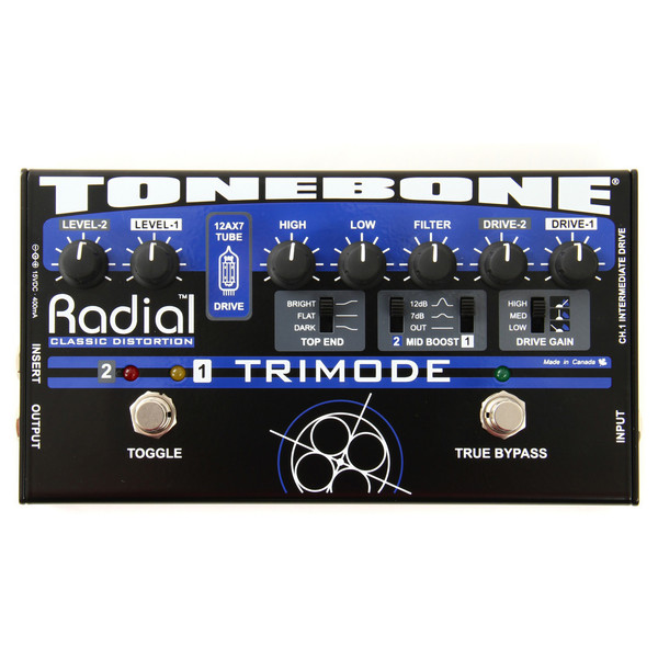 Radial Tonebone TriMode 12AX7 Tube Distortion