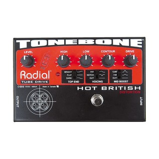 Radial Tonebone Hot British 12AX7 Tube Distortion Pedal