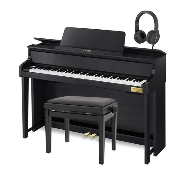 Casio GP400 Grand Hybrid Digital Piano Satin Black Package
