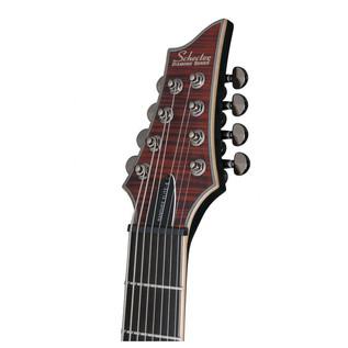 Schecter Banshee Elite-8 Electric Guitar, Cat's Eye Pearl